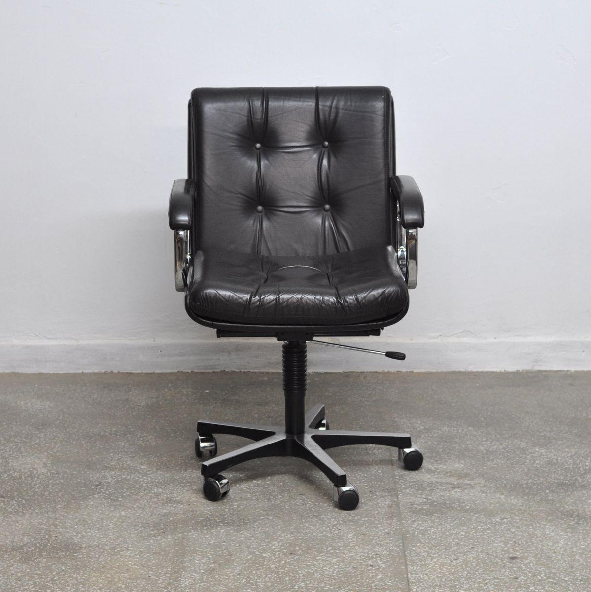 ergonomic chair norway swing cad block vintage norwegian office from ring mekanikk for sale