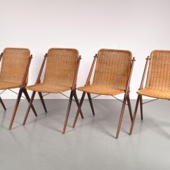 Teak Dining Room Chairs For Sale Chair Design Antique Vintage And Wicker Set Of 4