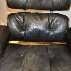 Eames Lounge Chair For Sale Distressed Table And Chairs Ottoman By Charles Ray Herman