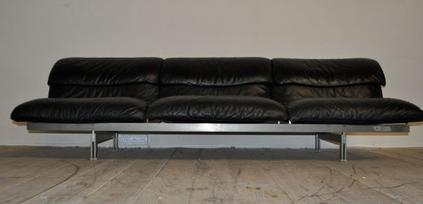Giovanni Leather Sofa Sforza Brown Set In Hayling Island - Thesofa