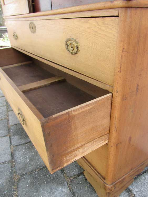 Antique Dutch Oak Cabinet 1840s for sale at Pamono