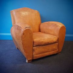 French Club Chairs For Sale Captains Chair Abs Vintage Leather Chair, 1950s At Pamono