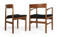 Mid Century Danish Teak Dining Chairs, Set of 6 for sale ...