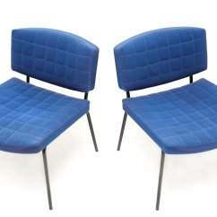 Royal Blue Chairs Pier 1 Dining By Pierre Guariche For Meurop 1950s