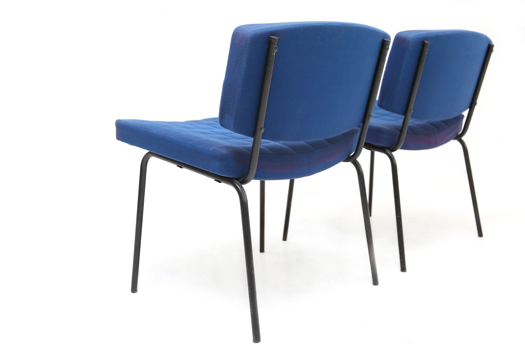 royal blue chairs jazzy power chair cover by pierre guariche for meurop 1950s