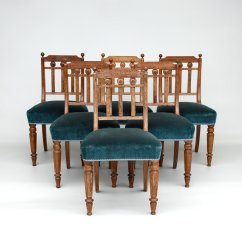 Antique Oak Dining Chairs Small Fold Up Camping Set Of 6 For Sale At Pamono