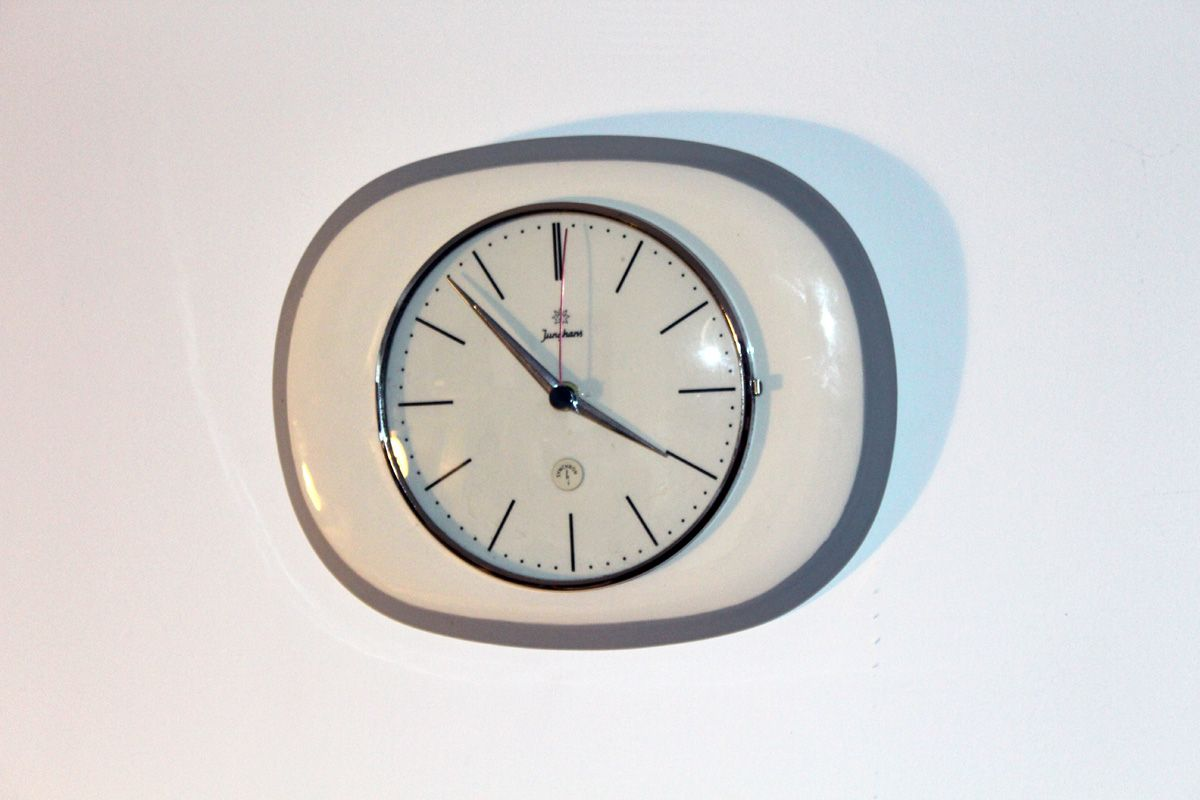 kitchen clocks for sale wall mounted cabinets mid century clock from junghans 1960s at