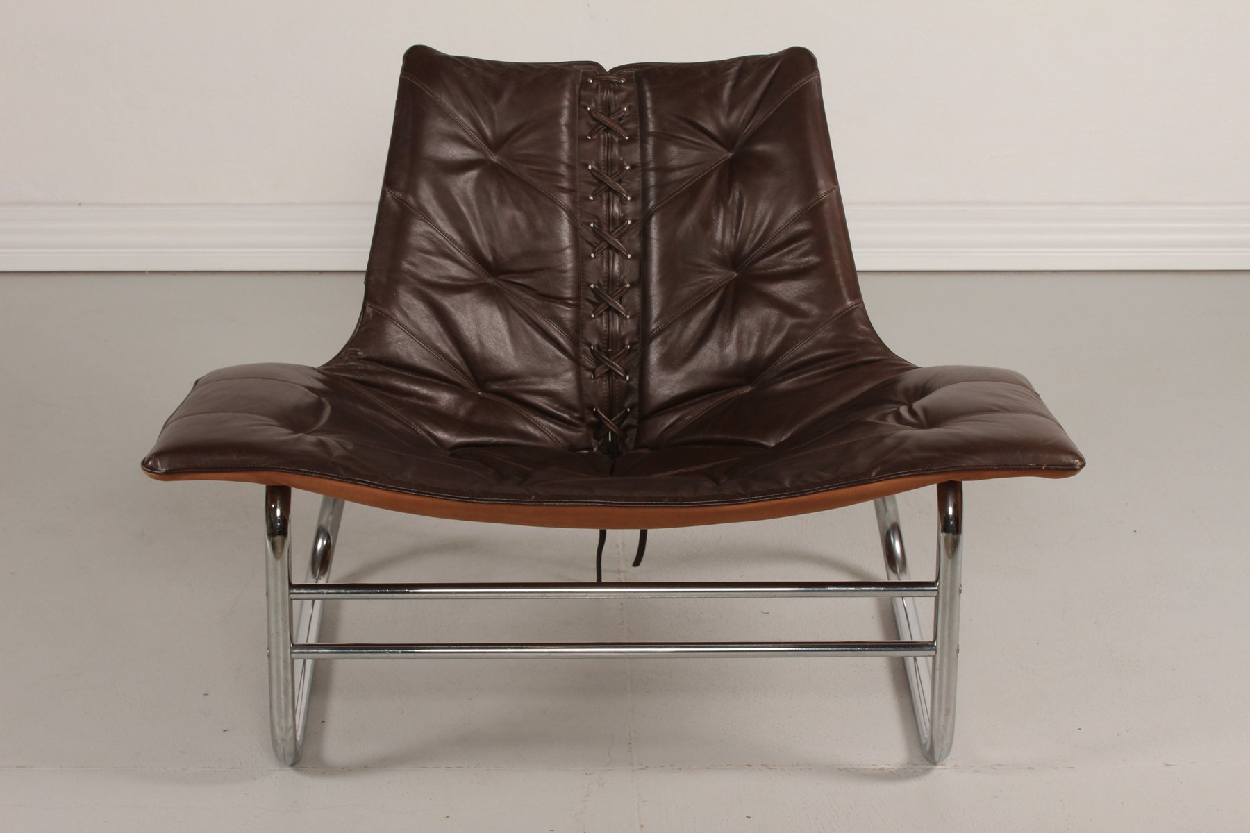 antique metal chairs for sale marus dental vintage and brown leather danish chair 1970s