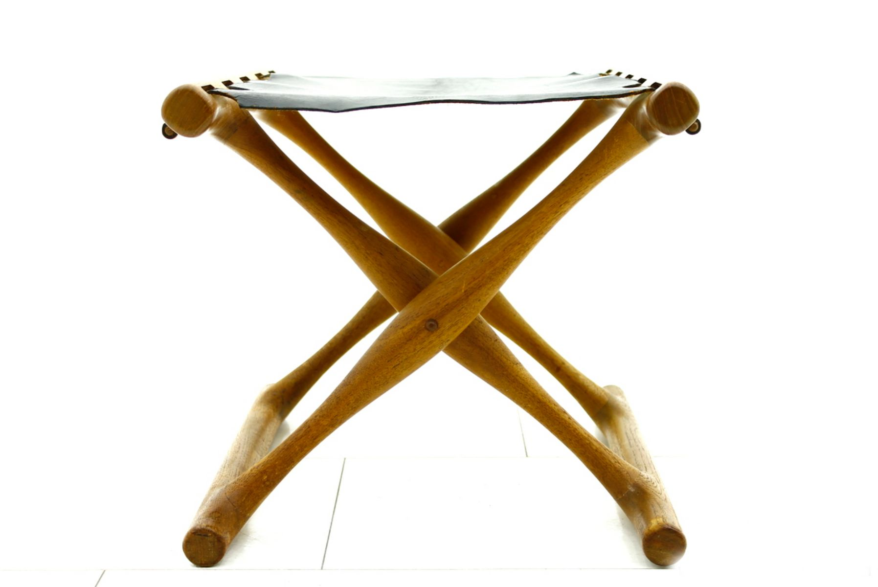 stool chair ph picture frame molding below rail 43 folding by poul hundevad 1950s for sale at pamono