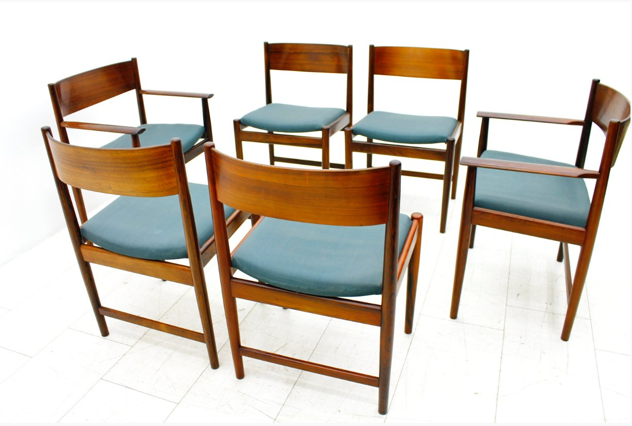 s dining chair top office chairs under 200 rosewood by arne vodder for sibast furniture