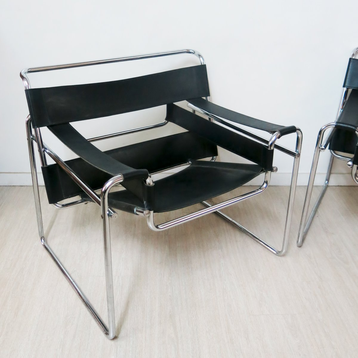marcel breuer chair original toddlers plastic chairs wassily by 1980s for sale at pamono