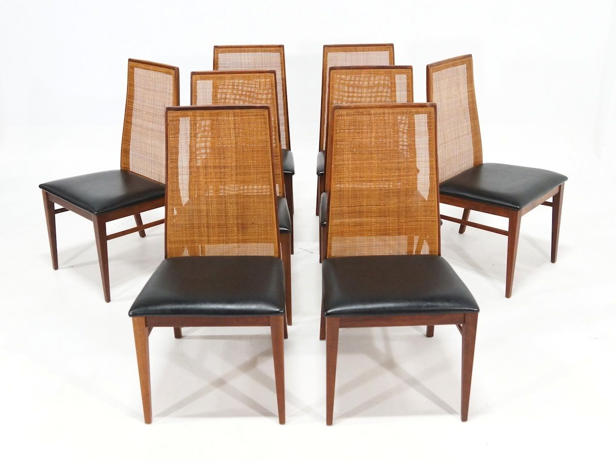 milo baughman dining chairs chair stools walmart mid century by for dillingham