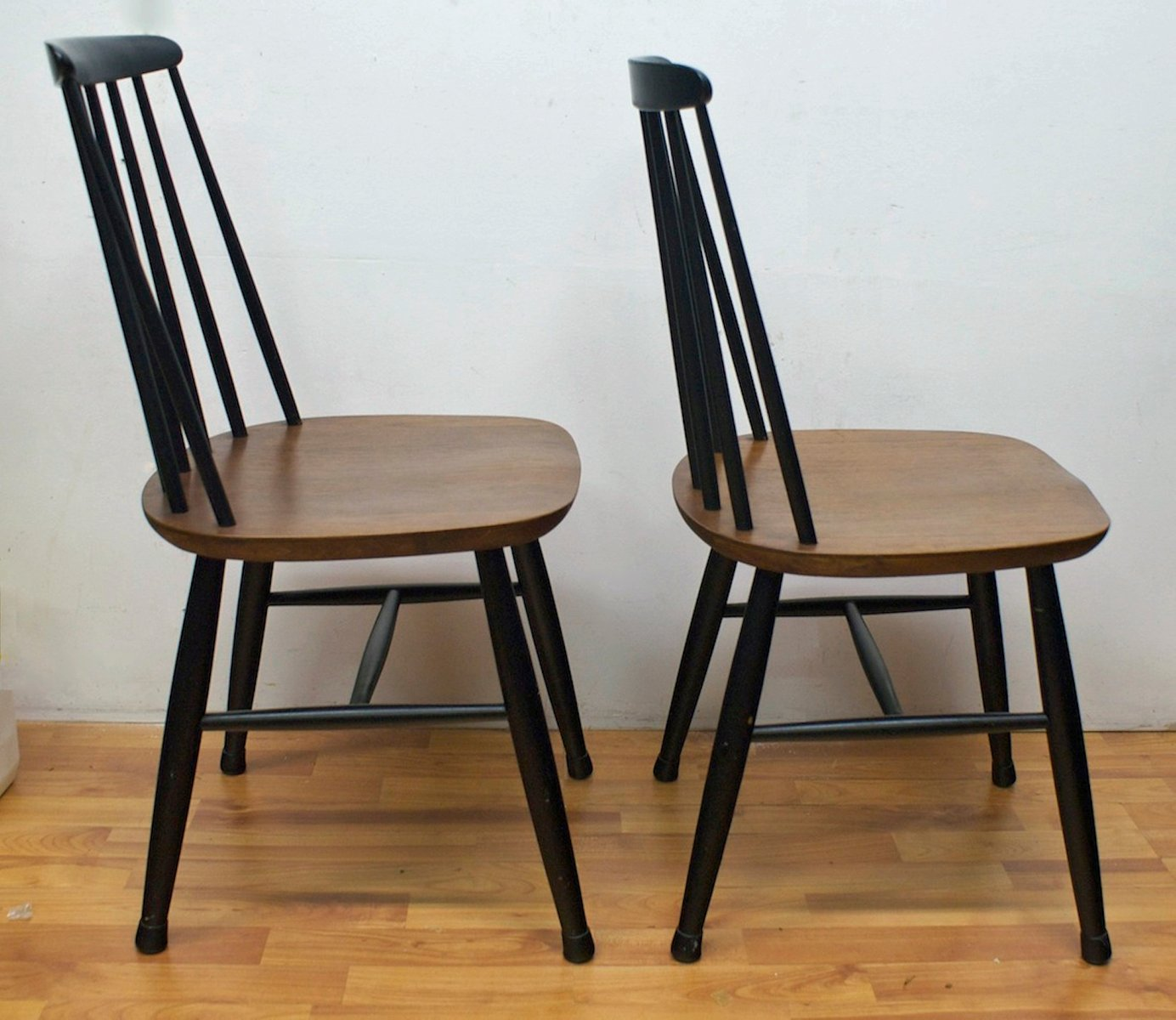 set of 2 dining chairs wicker lowes 1960s for sale at pamono