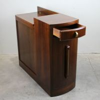 French Vintage Art Deco Bar Cabinet for sale at Pamono