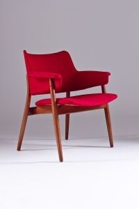 Vintage Mid Century Swedish Lounge Chair for sale at Pamono