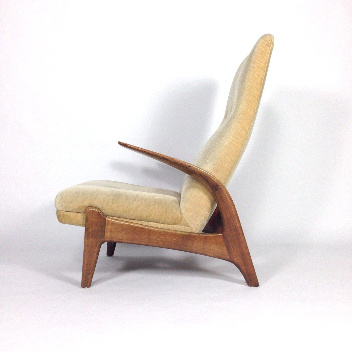 deer antler rocking chair wayfair chaise lounge chairs teak and velvet from gimson slater for sale