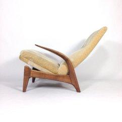 Deer Antler Rocking Chair Red Chairs Teak And Velvet From Gimson Slater For Sale