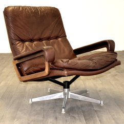 Swivel Chair King Living Director Chairs Cheap Swiss With Ottoman By Andre Vandenbeuck