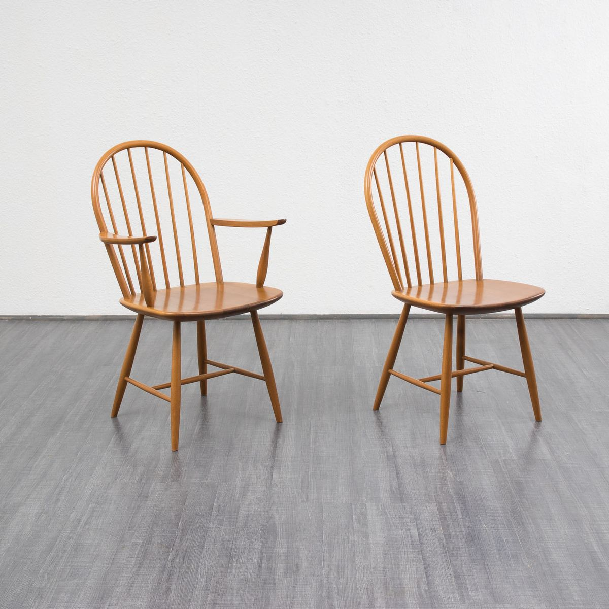set of 4 chairs steel chair images vintage beech wood dining for sale at pamono