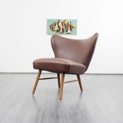 Tan Leather Chair Sale Hanging Indoor With Stand Brown Cocktail For At Pamono