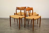 Scandinavian Dining Chairs by Niels O. Moller for J.L ...