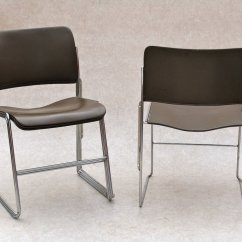 David Rowland Metal Chair Portable Fishing For Boat Stackable By Sale At Pamono