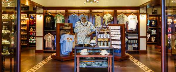 Aulani Disney Resort Gift Shop