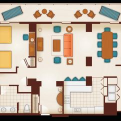 3 In One High Chair Plans Covers Canada Three Bedroom Grand Villa Aulani Hawaii Resort Spa Floor Plan Of A