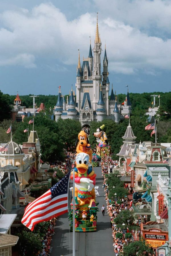 Vintage Walt Disney World Magic Kingdom Park Marks 20 Years Parks