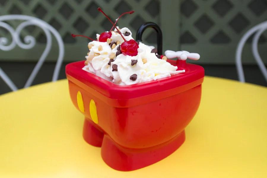 shareable kitchen sink sundae now on