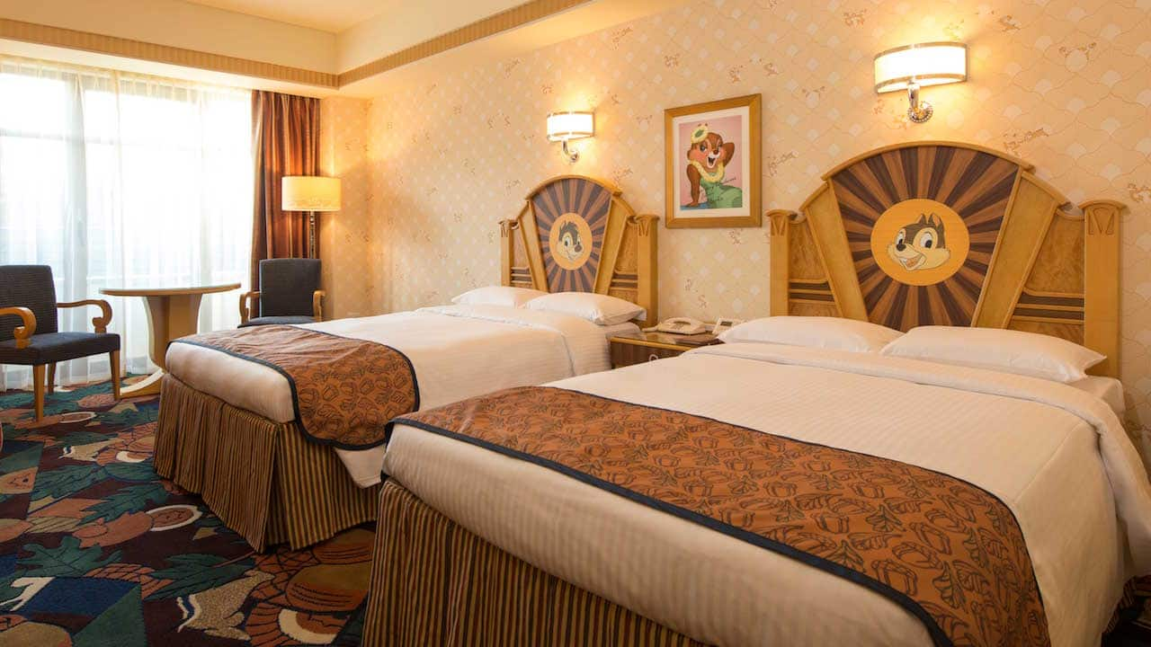 New Character Themed Rooms Unveiled At Tokyo Disney Resort