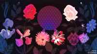 Disney Doodle: Alice In Wonderland Flowers Enjoy The