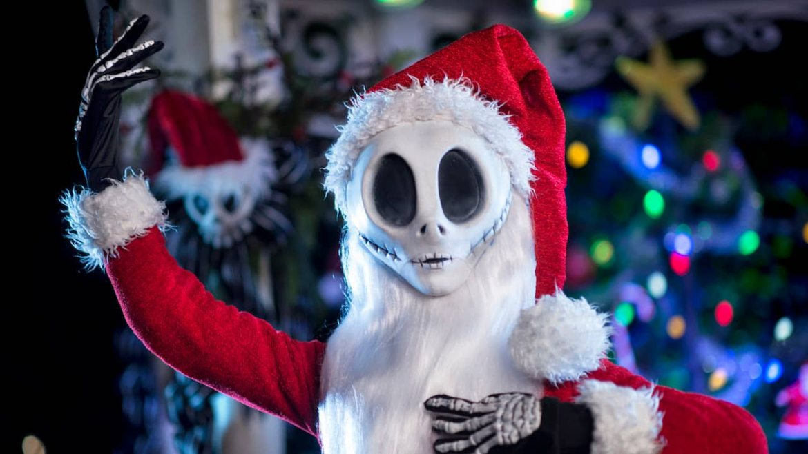 Meet Jack Skellington During Mickey's Very Merry Christmas Party