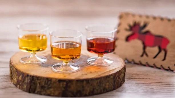 ce Wine Flight from Yukon Holiday Kitchen at Epcot International Festival of the Holidays