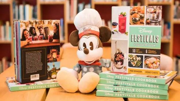 2018 Disney Festivals Cookbook