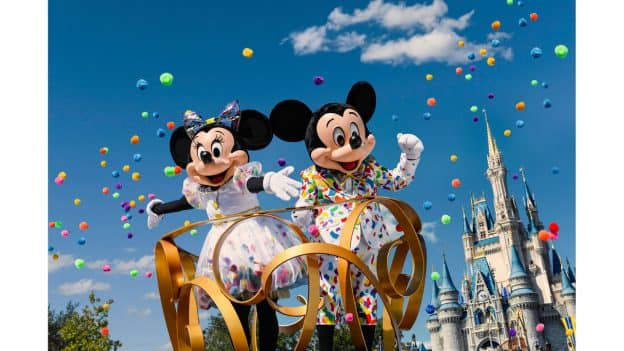 First Look: Mickey & Minnie's Fun New Celebration Outfits