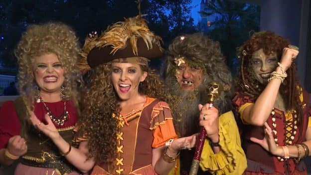 Disney Parks Blog Team Pirate Costumes at Mickey's Not-So-Scary Halloween Party