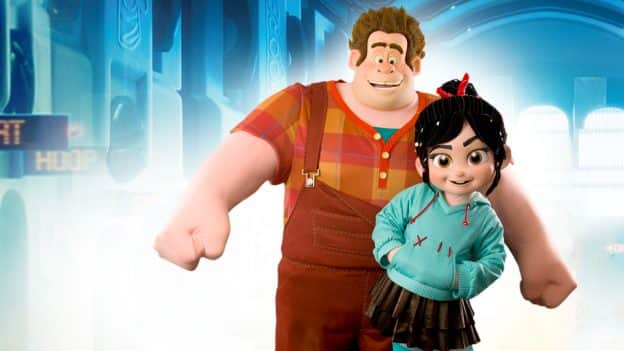 Ralph and Vanellope at Disney Parks