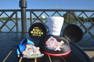 2018 Disney Wine & Dine Half Marathon Weekend Merchandise - Special ear hat designed for the runDisney Kids Races