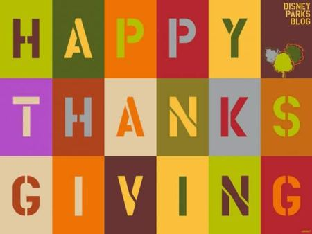 Disney Parks Blog Happy Thanksgving Wallpaper