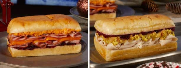 Holiday Sandwiches from Earl of Sandwich at Disney Springs