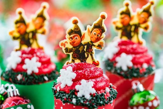 Prep and Landing Cupcake for Flurry of Fun at Disney's Hollywood Studios