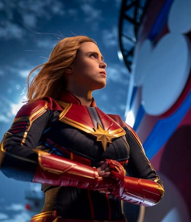 Marvel Season of Super Heroes Captain Marvel