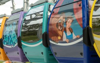 Disney Skyliner Gondolas at Walt Disney World Resort