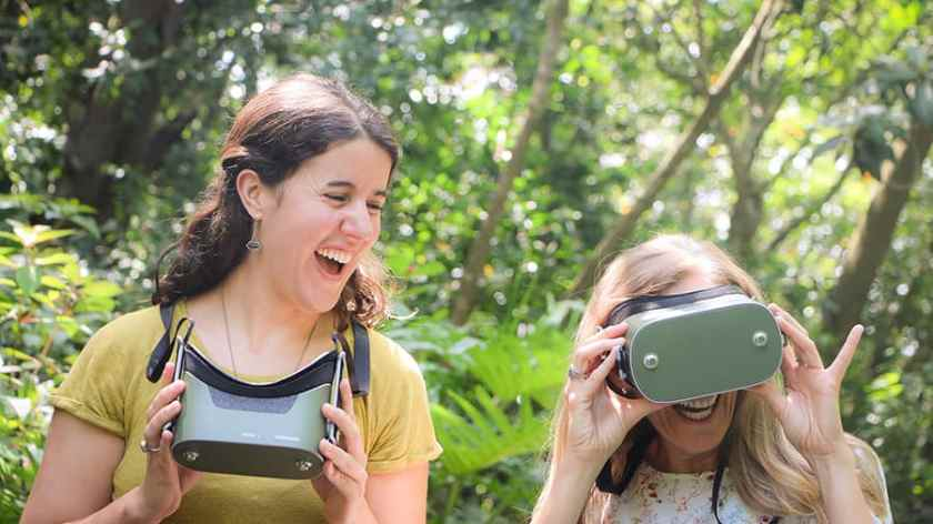 Experiencia de realidad virtual Kilimanjaro Safaris para Circle of Flavors: Harambe at Night en el parque temático Disney's Animal Kingdom