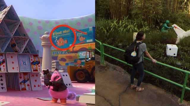 Pixar Easter Eggs Hidden in Google Street View Imagery of Toy Story Land 6