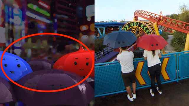 Pixar Easter Eggs Hidden in Google Street View Imagery of Toy Story Land 5
