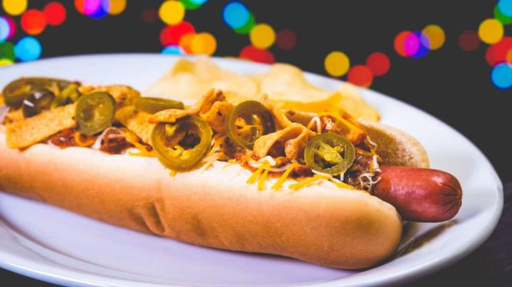 Firefly Hot Dog from Refreshment Corner at Disneyland Park