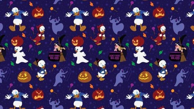 2019 Donald Duck Halloween Wallpaper