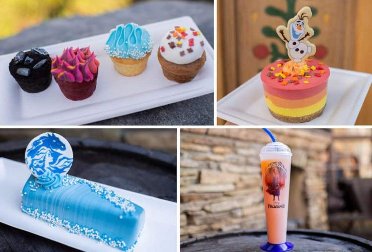 Frozen 2 Offerings from Epcot